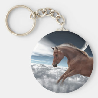 Over the moon keychain