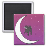 OVER THE MOON MAGNET