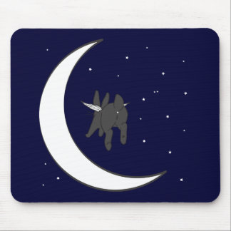 OVER THE MOON MOUSE PAD