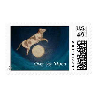Over the Moon Postage Stamps