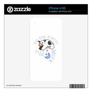 Over the Moon Skin For The iPhone 4