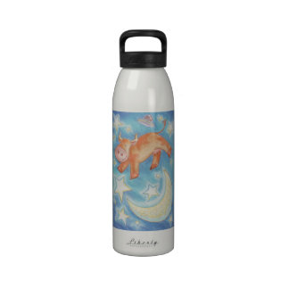 Over the Moon water bottle