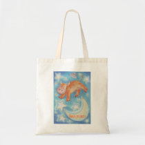 Over the Moon 'Your Name tote bag