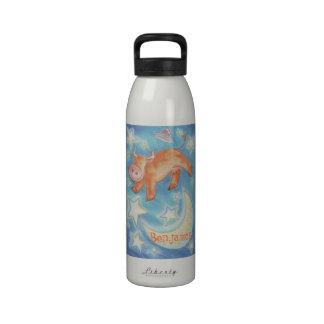 Over the Moon 'Your Name' water bottle