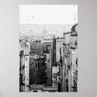 Over The Paris Print