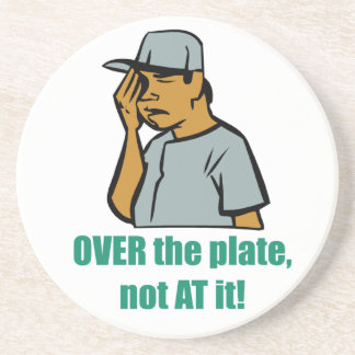 Over The Plate Coaster