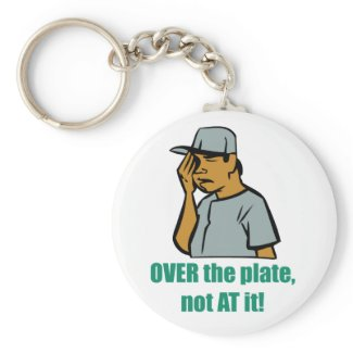 Over the Plate... Keychain keychain