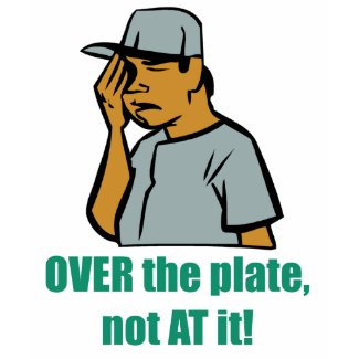 Over the Plate Kid's T-Shirt shirt