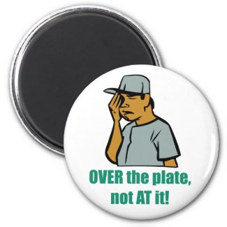 Over the Plate... Magnet magnet