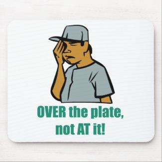 Over the Plate... Mousepad mousepad