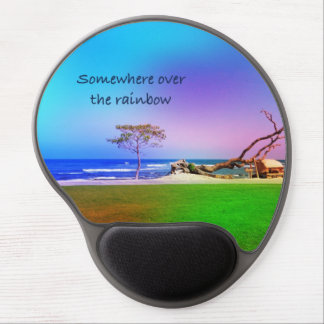 over the rainbow gel mouse pad