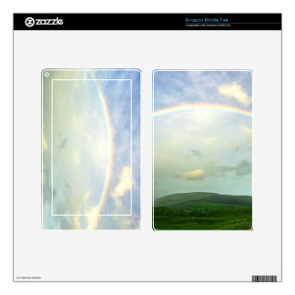 Over the Rainbow Kindle Skin