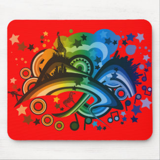 Over_The_Rainbow Mouse Pad