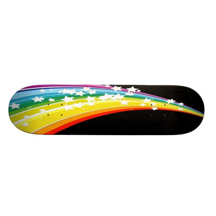Over The Rainbow Skateboard Deck