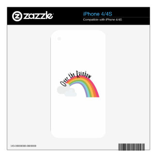 Over The Rainbow Skin For The iPhone 4