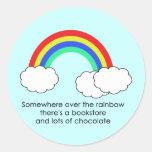 Over The Rainbow Sticker (Light)