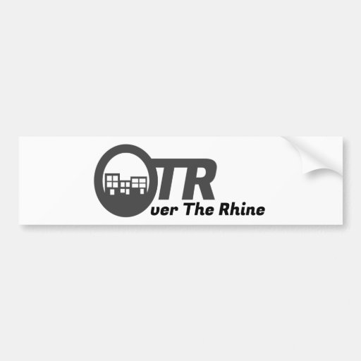 Over The Rhine Gear Bumper Stickers