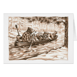 Over the River & Through the Woods by Gerry ONeill Card