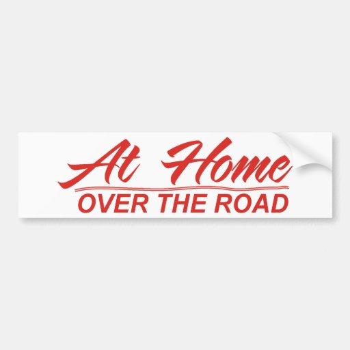 over the road designs 12 bumper sticker