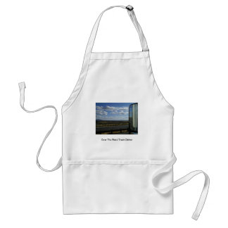 Over The Road Truck Driver Adult Apron