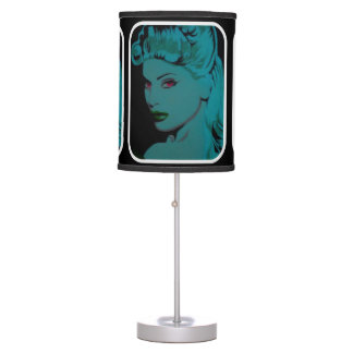 'Over the Shoulder' on a table lamp
