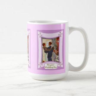 Over the threshold coffee mug
