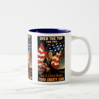 Over The Top For You Two-Tone Coffee Mug