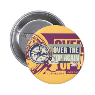 Over the Top Hiking Tshirts and Gifts Pin
