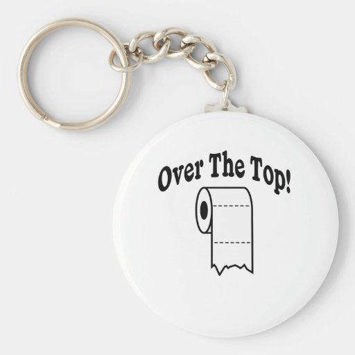 Over The Top! Key Chain