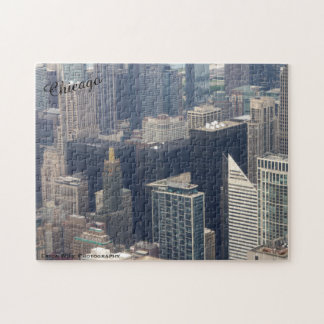 Over The Top of Chicago, IL Jigsaw Puzzle