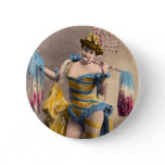 Over the Top Patriotic Pinback Button