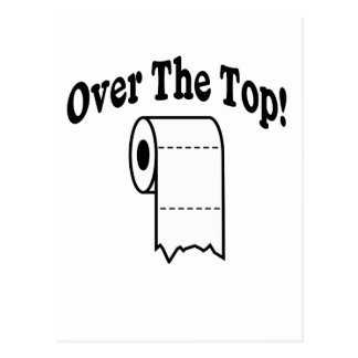 Over The Top! Postcard