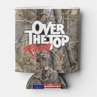 Over The Top Racing Camo Coozie