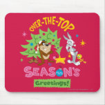 Over The Top Season's Greetings Mouse Pad