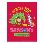 Over The Top Season's Greetings Postcard
