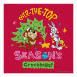 Over The Top Season's Greetings Poster