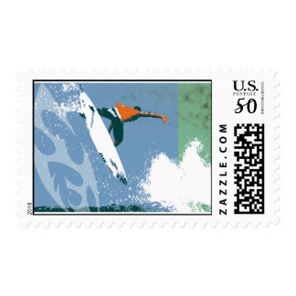Over the Top Surf Stamp