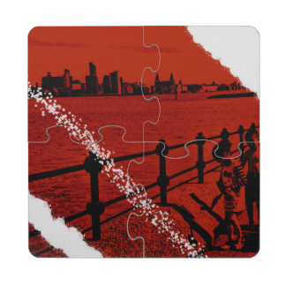 Over the water Merseyside coaster puzzle Puzzle Coaster