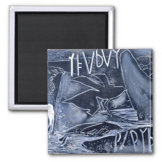 Over the Years 2 Inch Square Magnet