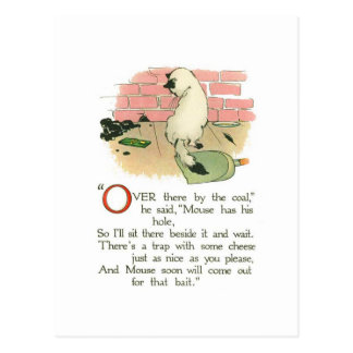 """""""Over there by the coal,"""" he said Post Card"""