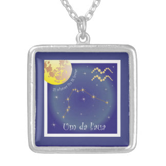 Over there l'aua 21 more schaner fin 18 of favrer silver plated necklace