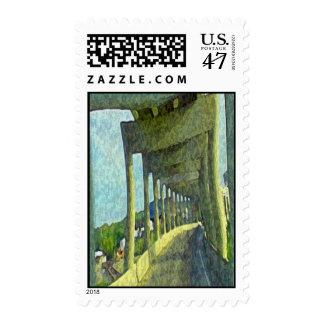 Over & Under Bridge Postage