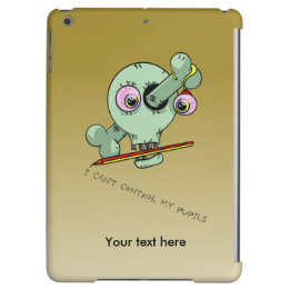 Over Worked Bad Teacher Funny Skull Case For iPad Air