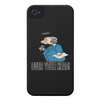 Over Your Head iPhone 4 Case