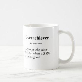 Overachiever Definition Coffee Mugs