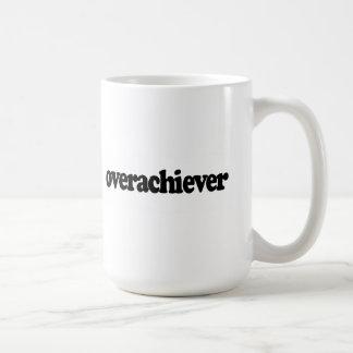 Overachiever Taza Básica Blanca