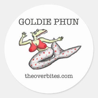 Overbite de Goldie Phun Pegatinas