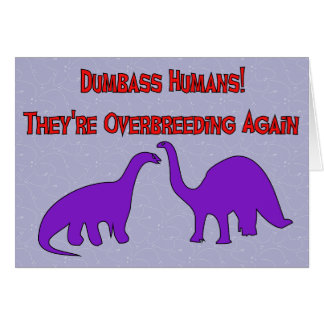 Overbreeding Dinosaurs Card
