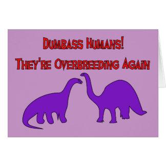 Overbreeding Dinosaurs Card