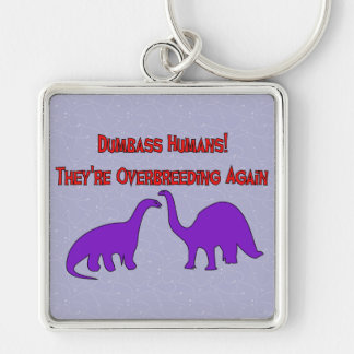 Overbreeding Dinosaurs Keychain